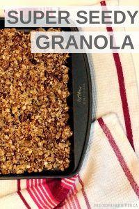 Super Seedy (Secret Ingredient) Granola!