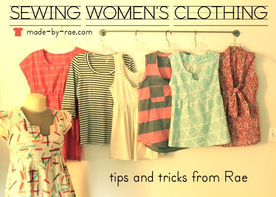 Some excellent tips/tricks for sewing clothing for yourself. I must re-read this every time I go to sew something for me, just to keep it fresh in my mind!