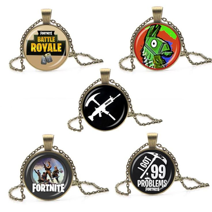Fortnite Pendant Necklace (Assorted Designs) (With images