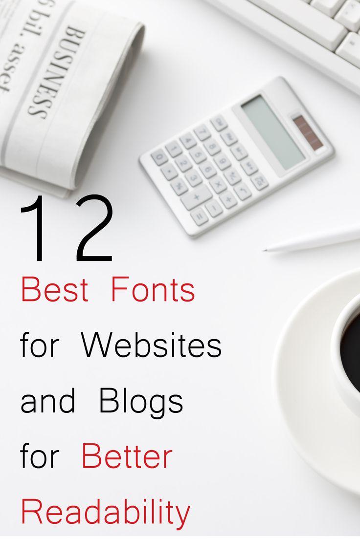 Findout Best Fonts for Websites and Blogs #Font #fonts #website #blog #bestfonts