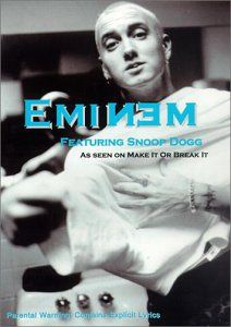 This DVD features rap star Eminem as seen on the Make It Or Break It series. It features Eminem performing 8 of his songs including 'The Real Slim Shady' 'My Name Is' 'The Way I am' an exclusive in...