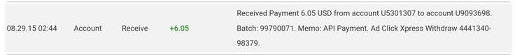 Here is my Withdrawal Proof from AdClickXpress. I get paid daily and I can withdraw daily. Online income is possible with ACX, who is definitely paying - no scam here.  To join go to ACX : http://adclickxpress.com/?r=jmk3uwe2reth&p=mx  To know more, contact me on  fb : https://www.facebook.com/profile.php?id=100010123510132