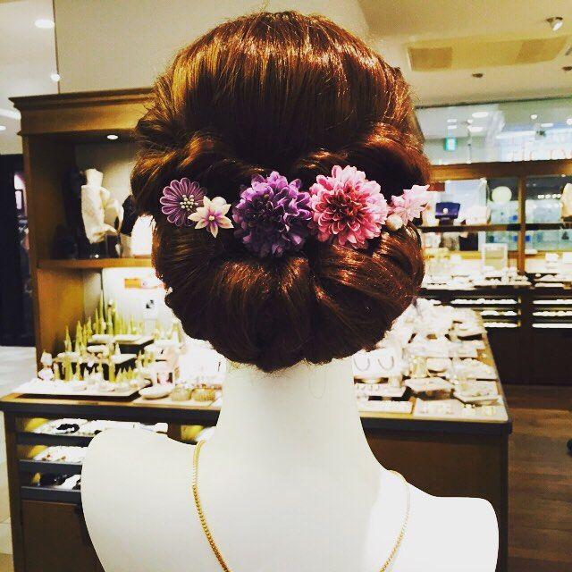 「浴衣・着物・袴。和装に合わせた髪型でワタシの魅力を格上げする」に含まれるinstagramの画像|MERY [メリー]