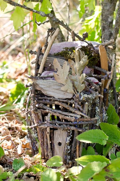 bear & lion: theme thursday : how to build fairy houses