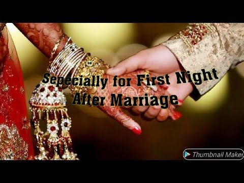 Do what marriage night after to on first 5 Must