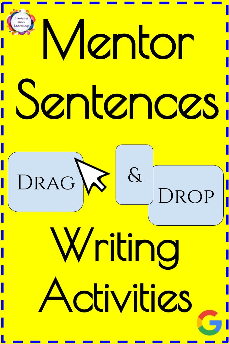 Tired of the same old grammar worksheets? Students enjoy the drag-and-drop format of these engaging digital interactive slides! Twenty mentor sentences have been chosen to help you purposefully discuss a variety of different sentence structures and grammatical rules including parallel structure, introductory phrases, items in a list, compound and complex sentences and more. Build sentence imitation and grammar discussions naturally into your classroom as students drag-and-drop word and…