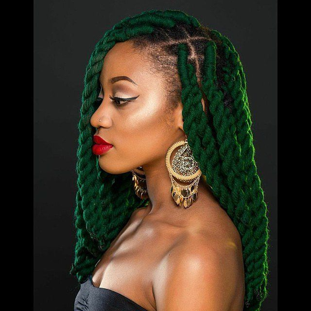 Yarn Braids are a perfect Summer hairstyle for Black women. The braided hairstyle with weave requires minimal maintenance, making it an easy vacation hair solution. It's also a great protective style for natural hair.