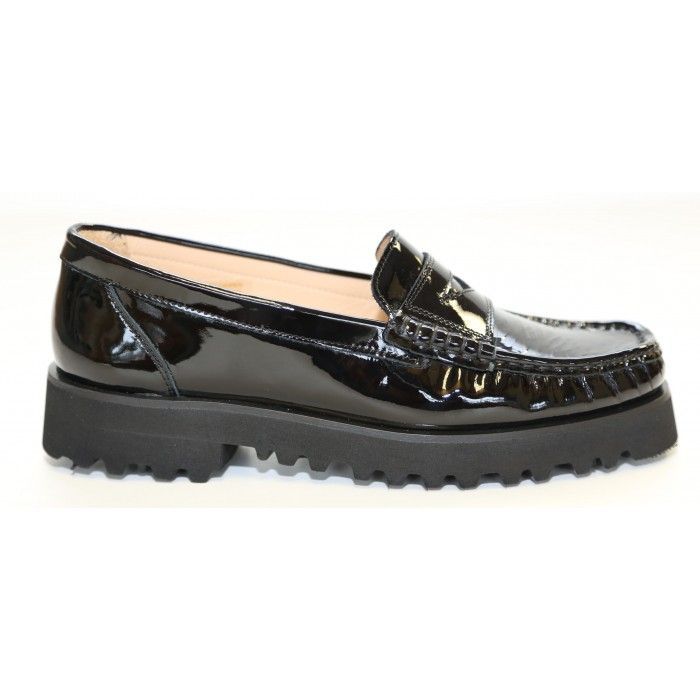 Ron White Women's Rita Penny In Onyx Patent Leather
