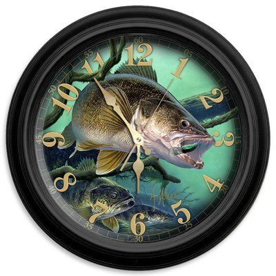 "ReflectiveArt Deep Trouble 16"" Classic Wall Clock"