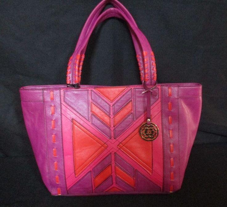 NANETTE LEPORE Olivia Magenta/ Fuchsia Pink Handbag, Retails $119 #NanetteLepore…