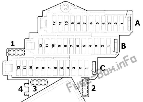 Audi Q7 4l 2007 2008 2009 2010 2011 2012 2013 2014 2015 Fuse Box Diagram Audi Audi Q7 Engine Control Unit