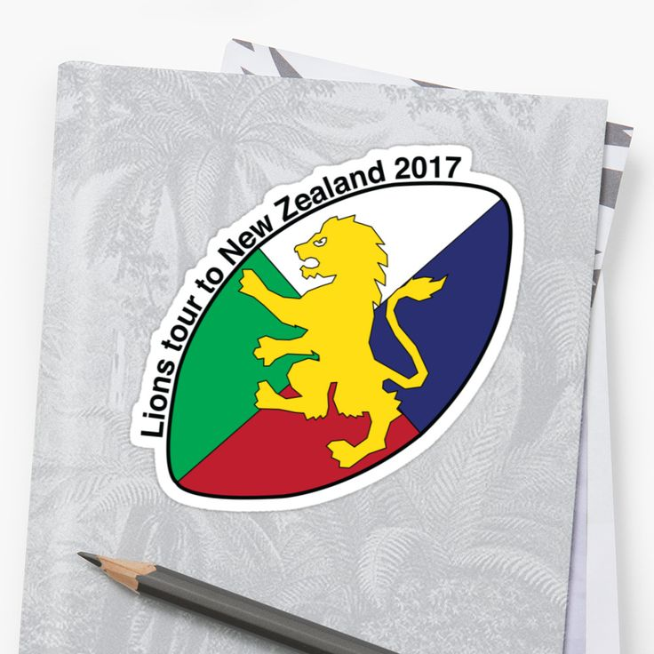 Lions Rugby sticker by Fimbis  British and Irish Lions, LionsNZ2017,