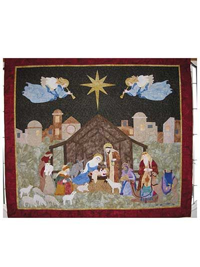 Nativity Quilt Pattern  -- Must get this!