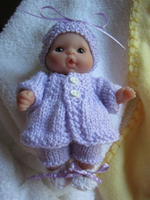Free Knitting Patterns Dolls Clothes 14 Inch