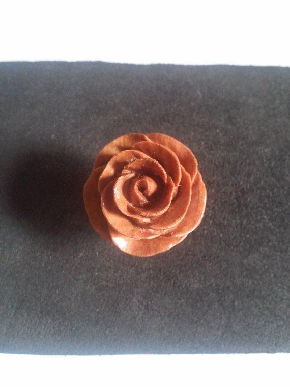 Check out this item in my Etsy shop https://www.etsy.com/listing/268338030/stud-earrings-rose-wooden-rose-stud