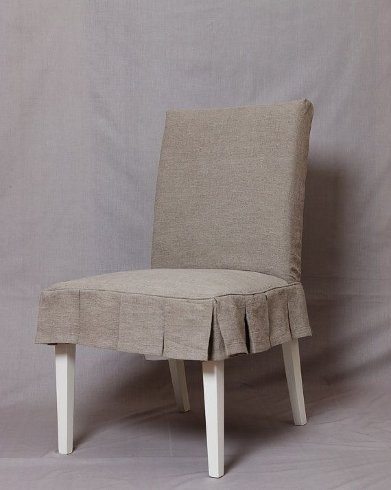 you provide fabric short pleated skirt slipcover to fit ikea chair henriksdal