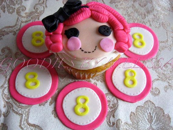 Lalaloopsy fondant cake topper EDIBLE by GoodiesByMelissa on Etsy, $19.00