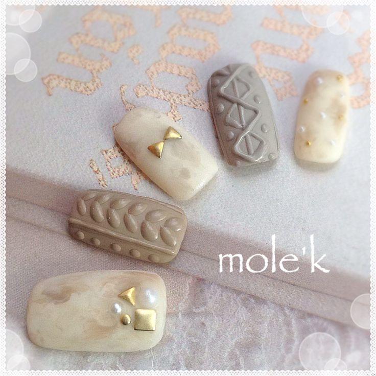 knit nail;-)