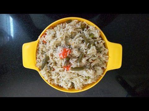 Mixed Vegetable Pulao - No Garlic Recipe