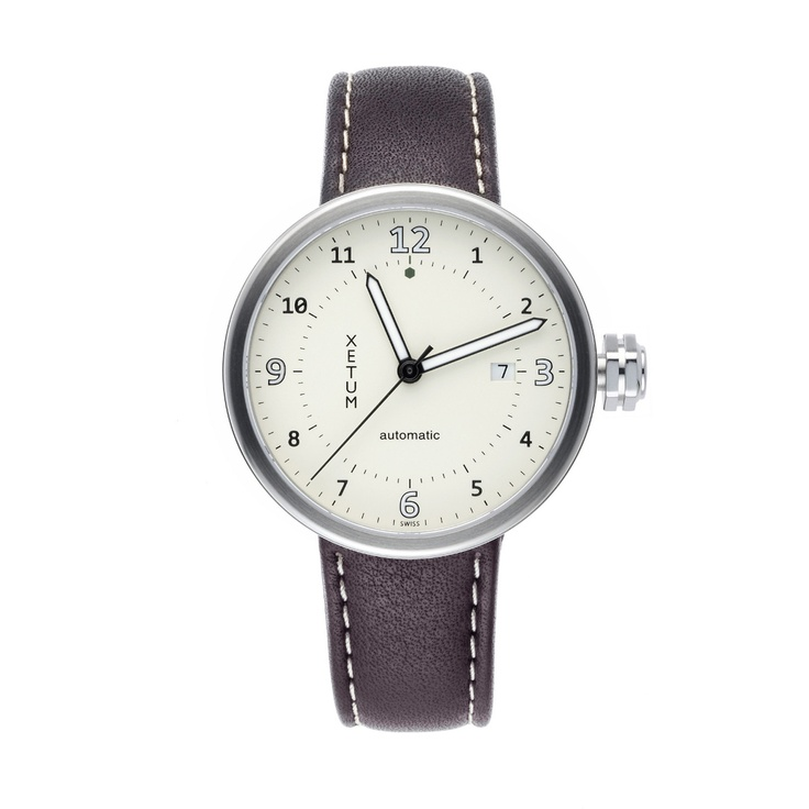 made in san franciscoTimepiece, Fashion Style, Watches Men, White, Xetum Stinson, Automatic Watches, Xetum Swiss, Modern Aesthetic, Swiss Automatic