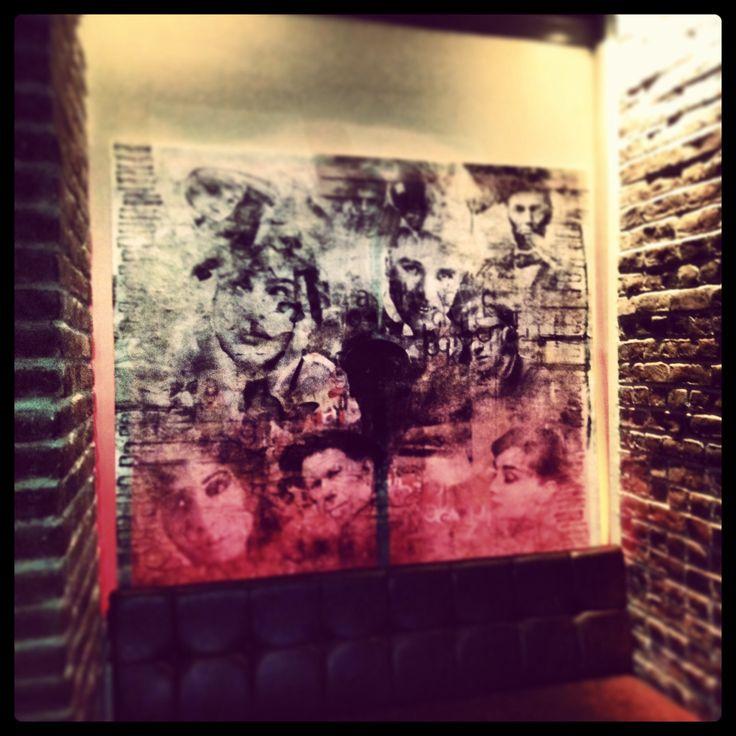 Bubble Pub canvas wallpaper - Atölye MOnArchy 2012