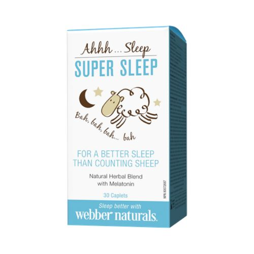 Natural Sleep Aid by Webber Naturals #trynatural