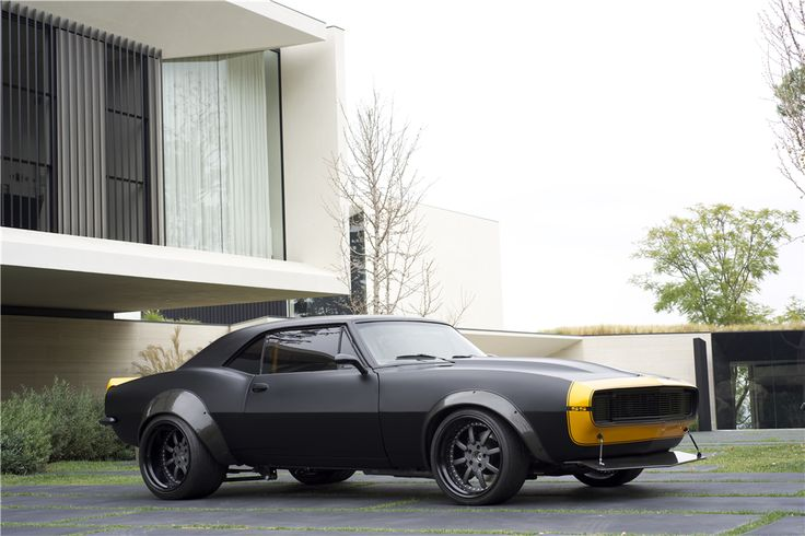 """1967 CHEVROLET CAMARO SS """"TRANSFORMERS BUMBLEBEE"""" - Barrett-Jackson Auction Company - World's Greatest Collector Car Auctions"""