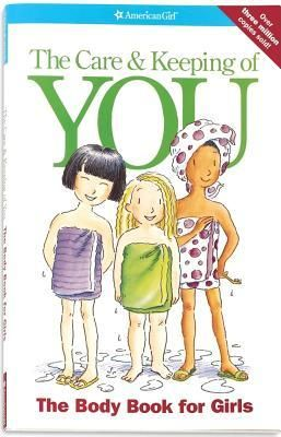 "The Care & Keeping of You: The Body Book for Girls (American Girl Library)~ This ""head-to-toe"" guide answers all your questions, from hair care to healthy eating, bad breath to bras, periods to pimples, and everything in between. With tips, how-to's, letters from girls, and facts from the experts, here's straightforward advice you can really use."
