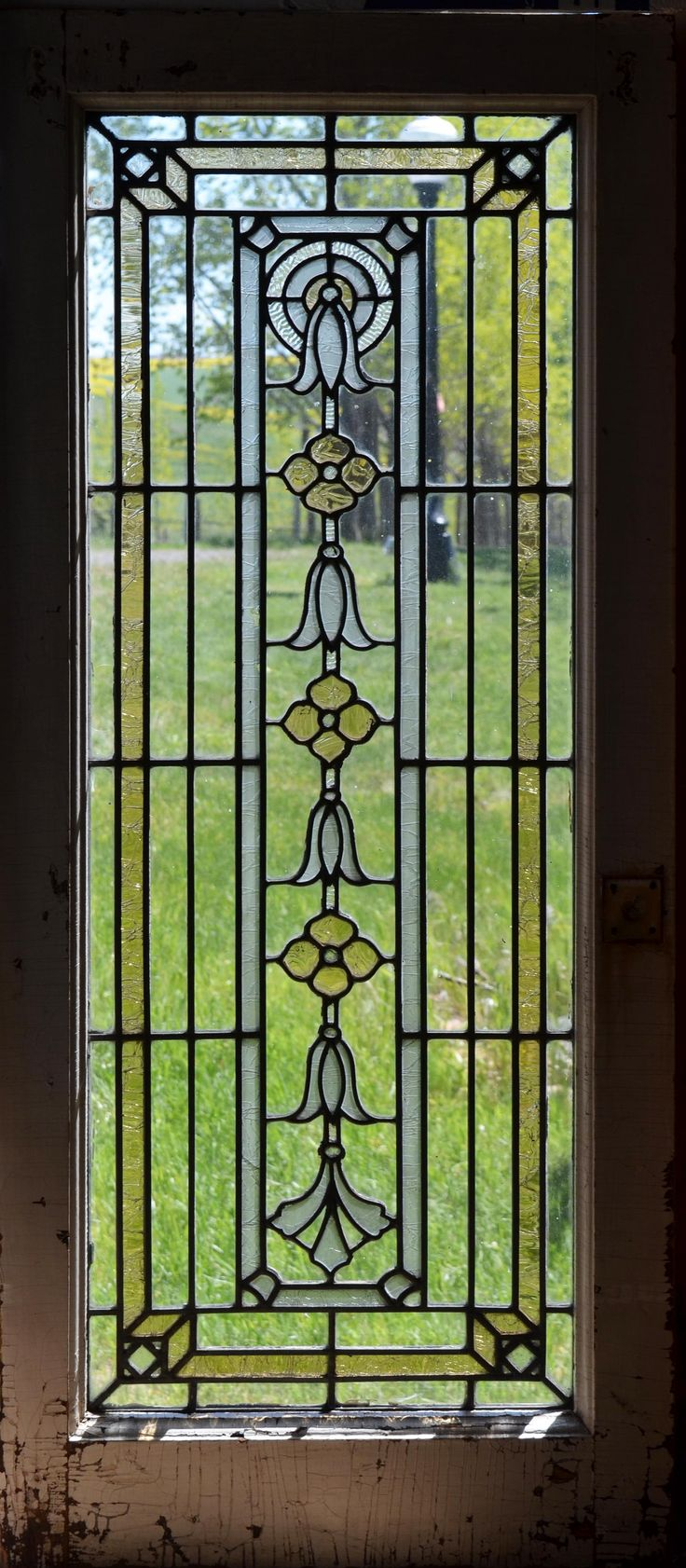 Antique stained glass doors - Antique Stained Glass