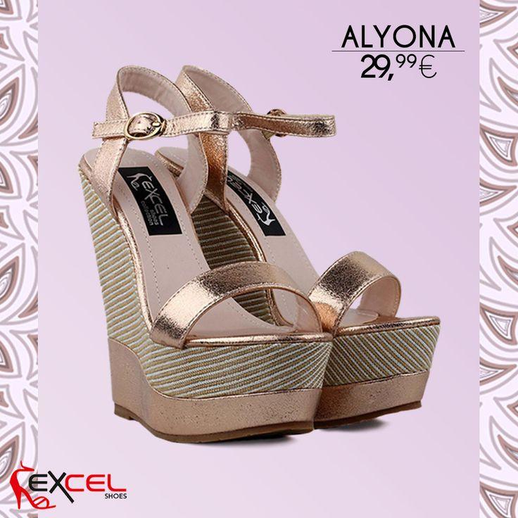 Feel the spring! Alyona 29,99€ 🚚 Δωρεάν μεταφορικά για Ελλάδα #excelshoes #ss17 #spring #summer #2017 #shoes #women #womenfashion #flatform #thessaloniki #papoutsia #gunaika #παπουτσια #moda #heels #platform