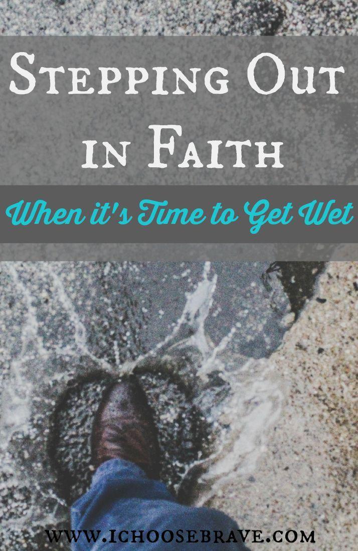 God Rewards a Step of Faith