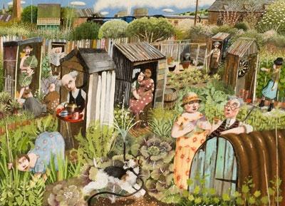 Ida always worked her Garden......…Richard Adams - Allotments