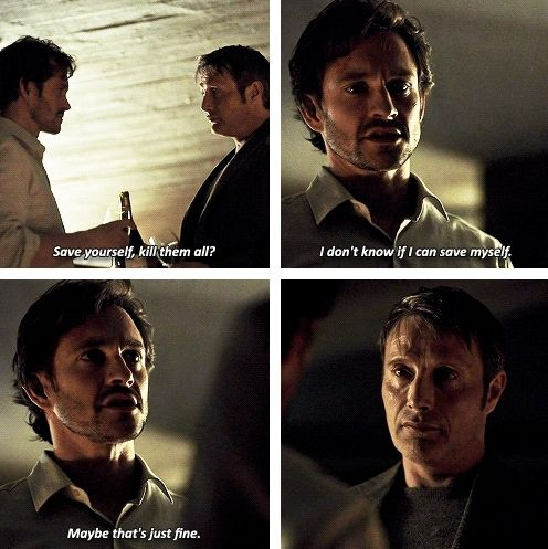 No greater love hath man than to lay down his life for a friend. Hannibal 3x13 The Wrath of the Lamb. Source: mattmrudock.tumblr