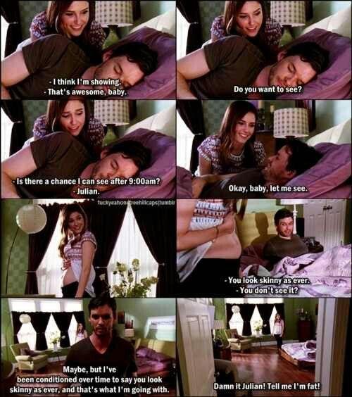 Sophia Bush (Brooke Davis-Baker) & Austin Nichols (Julian Baker) - One Tree Hill