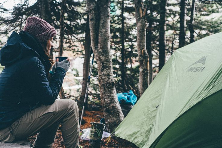 Camping campsite in Putsborough, Woolacombe, Devon - Combas Farm