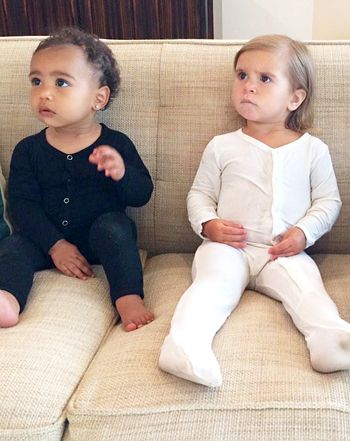 North West, Penelope, and Mason Disick Pose Together: Cute Cousin Pic! - Us Weekly