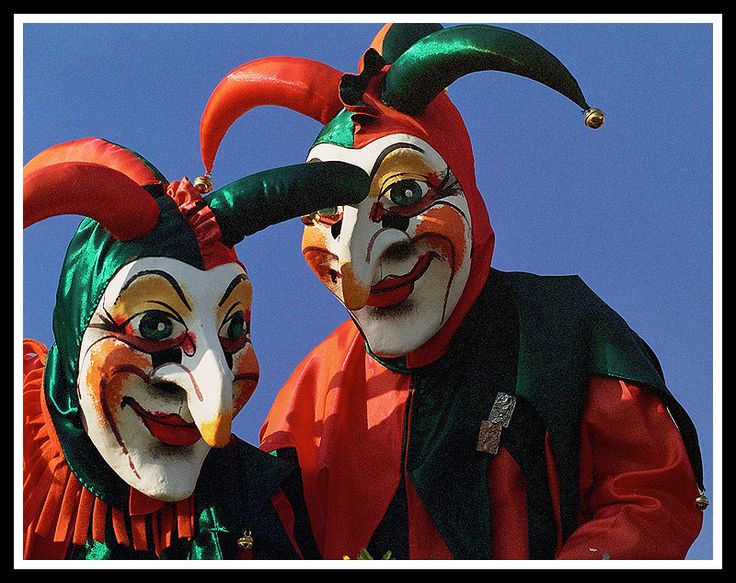The two Uelis -  Carnival in Basel,  Switzerland