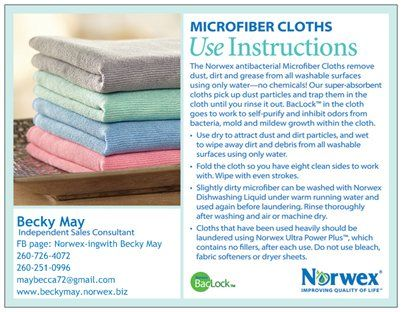 14 best Norwex Consultant images on Pinterest Norwex consultant - new vistaprint norwex
