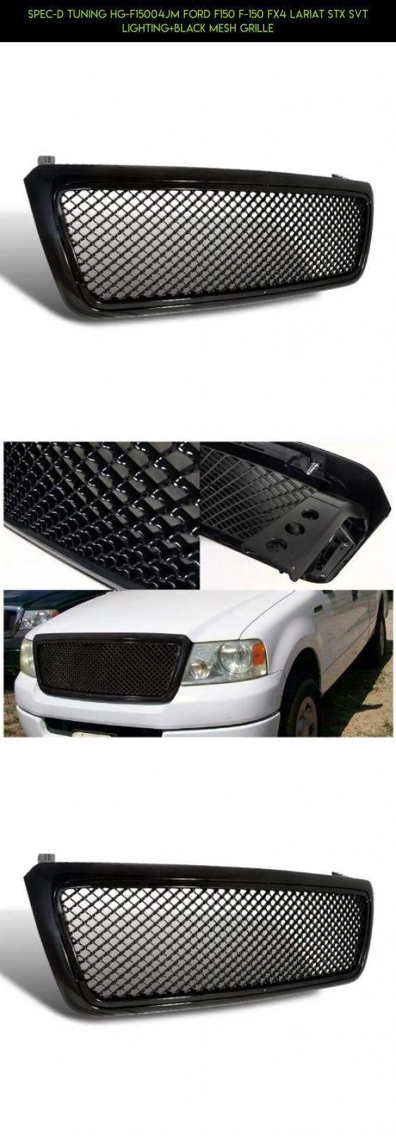 Spec-D Tuning HG-F15004JM Ford F150 F-150 Fx4 Lariat Stx Svt Lighting+Black Mesh Grille #products #technology #kit #grills #parts #ford #fpv #camera #racing #gadgets #tech #2006 #drone #shopping #plans #f150