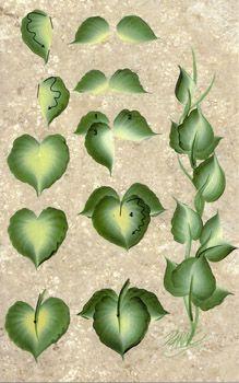One Stroke Ivy Teaching Guide Packet by Folk Art