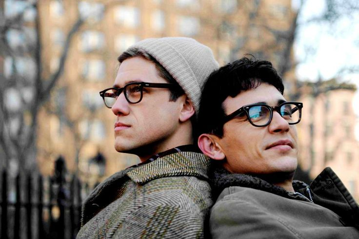 from left: 	Aaron Tveit, James Franco, as Allen Ginsberg, 2010 | Essential Gay Themed Films To Watch, Howl http://gay-themed-films.com/watch-howl/