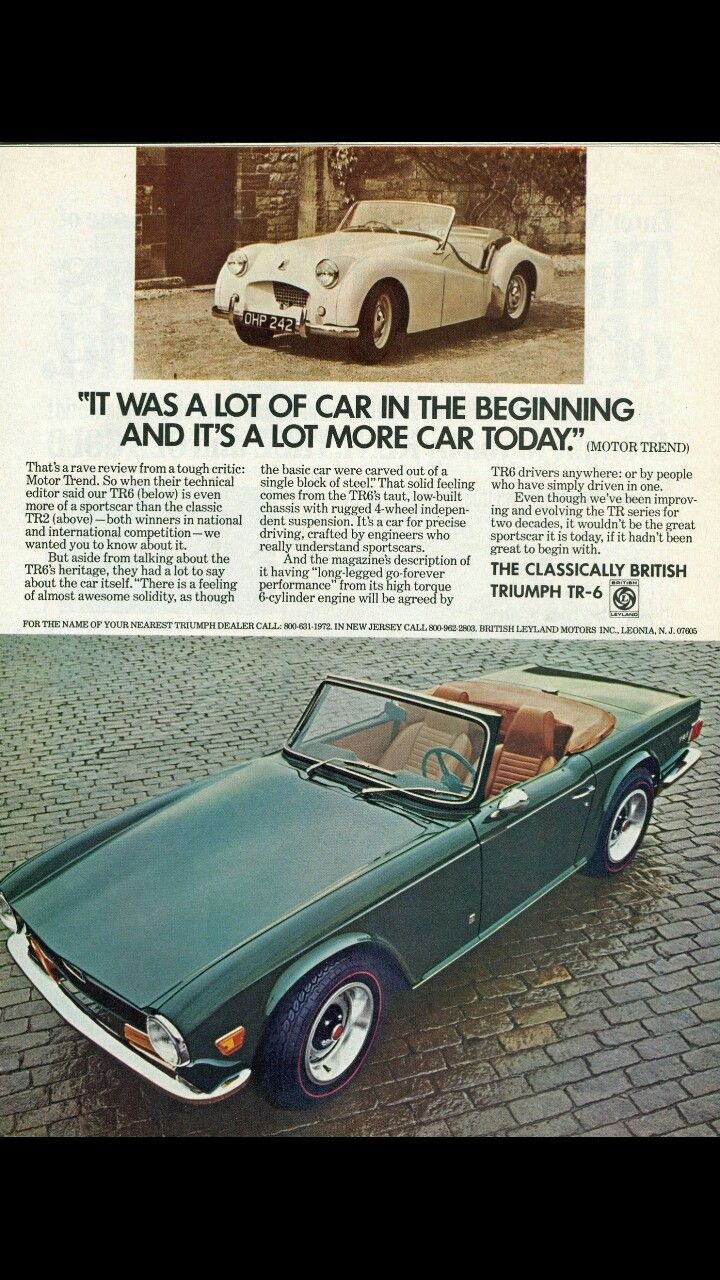 1972 Triumph Tr 6 Euro Cars Pinterest Vehicle And Cars