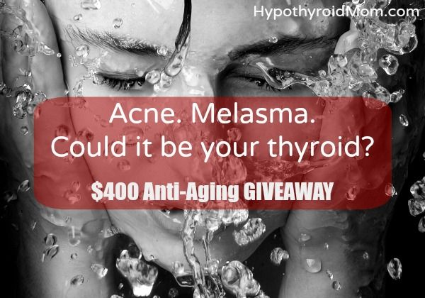 Acne. Melasma. Could it be your thyroid?