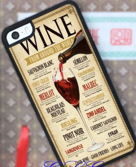 """Check out our latest iPhone case for Wine lovers - """"Wine From Around the World."""" It's just $17.99 with FREE SHIPPING in the US! Order today and you'll have yours within five weeks!"""