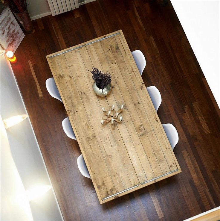 diy pallet beefy 8 people dining table