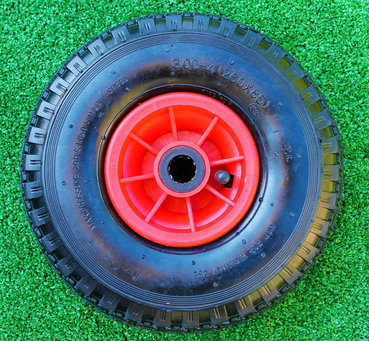 Prachtige bolderkarwielen voor uw bolderkar! Dit wiel monteert u eenvoudig op uw bolderwagen. Snel weer verder rijden :)