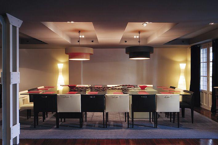 Sala de reuniones del Hotel Marques de Vallejo. Trabajar así es placentero.