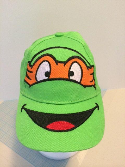 teenage mutant ninja turtle baseball hat turtles toddler boy cap personalized caps