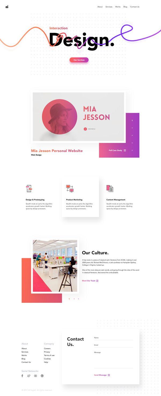 Creative Design Agency Website Creative Website Design Creative Design Agency Agency Website Design