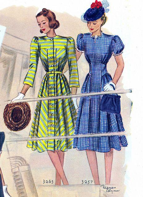 Los trazos y el colorido de 1939.